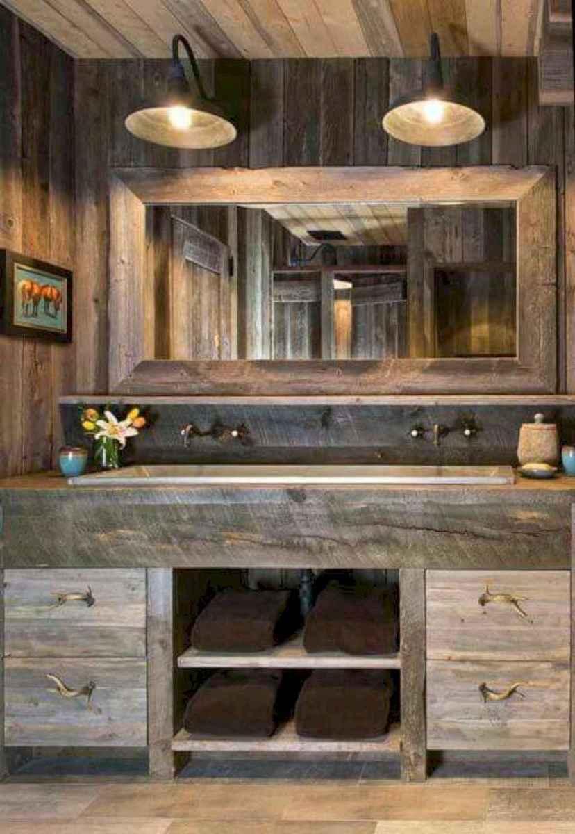125 Brilliant Farmhouse Bathroom Vanity Remodel Ideas (65)