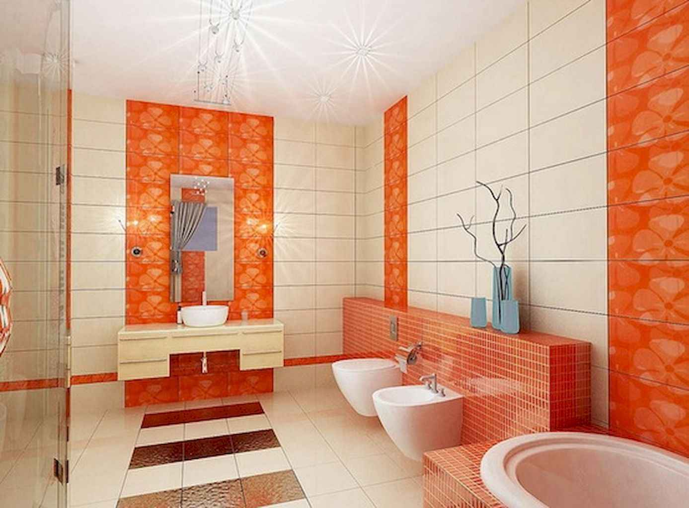 55 Cool and Relax Bathroom Decor Ideas (26)