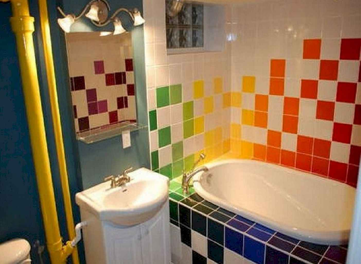 55 Cool and Relax Bathroom Decor Ideas (42)