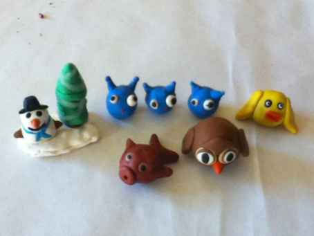 70 Easy To Try DIY Polymer Clay Figure Ideas (1)