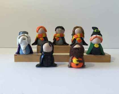 70 Easy To Try DIY Polymer Clay Figure Ideas (47)