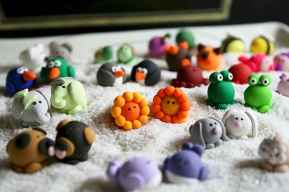 70 Easy To Try DIY Polymer Clay Figure Ideas (59)