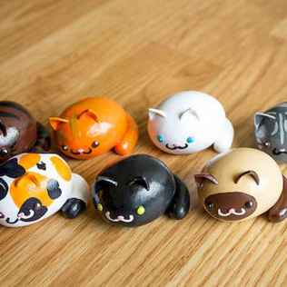 70 Easy To Try DIY Polymer Clay Figure Ideas (71)