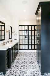 80 Awesome Farmhouse Tile Shower Decor Ideas (47)