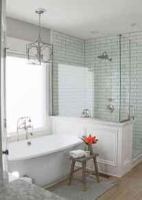 80 Awesome Farmhouse Tile Shower Decor Ideas (77)
