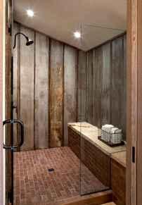 80 Awesome Farmhouse Tile Shower Decor Ideas (78)