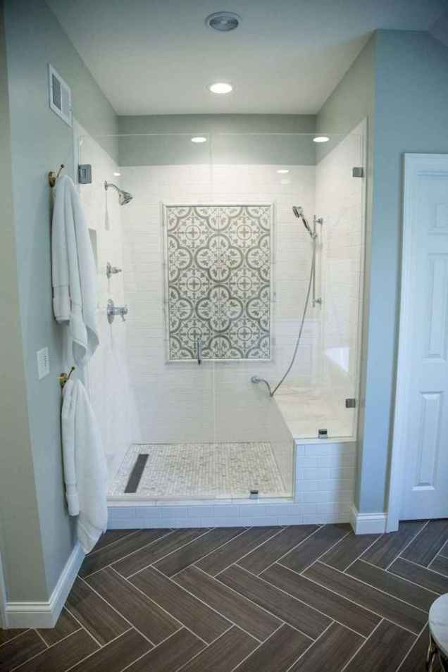 80 Awesome Farmhouse Tile Shower Decor Ideas (83)