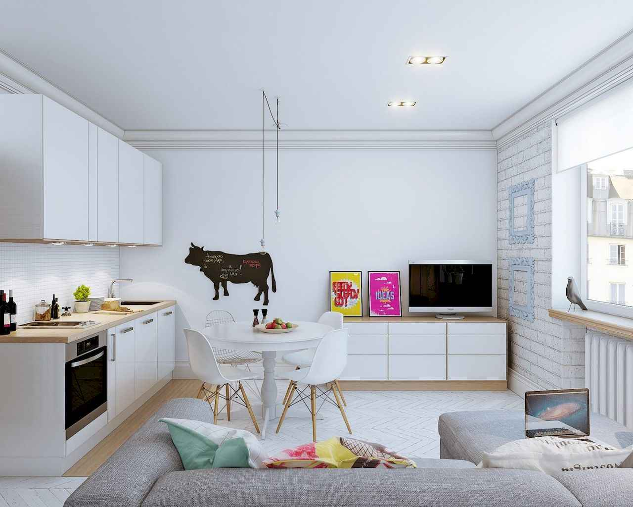 80 Elegant Harmony Interior Design Ideas For First Couple (25)