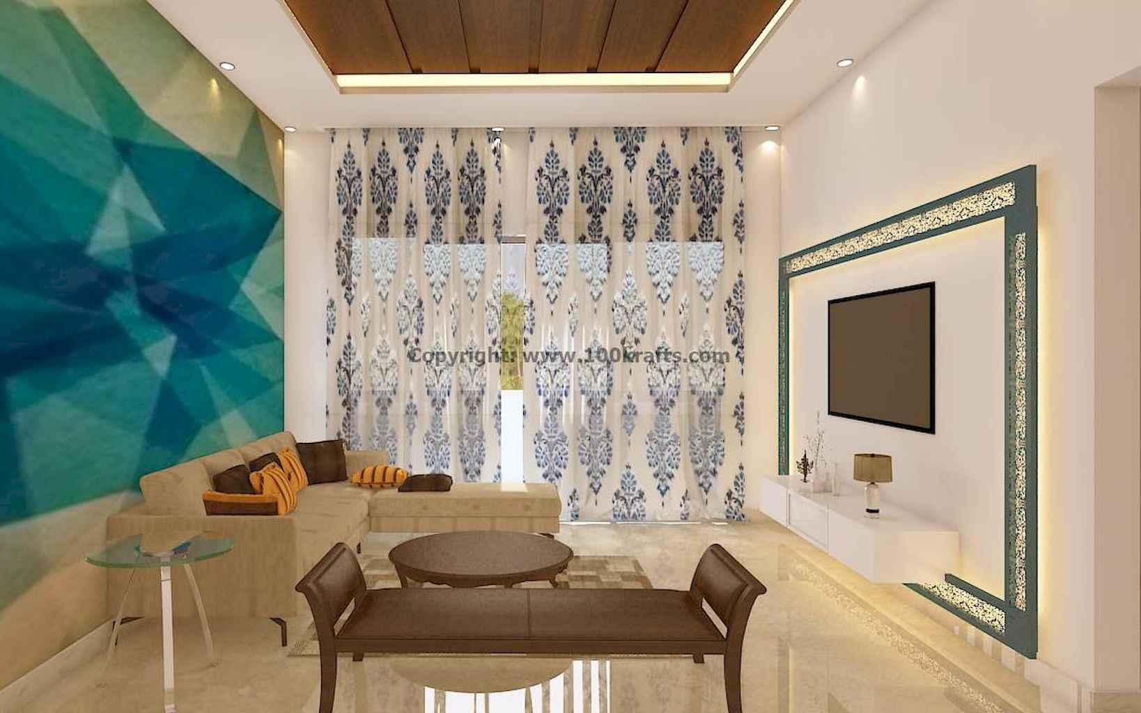 80 Elegant Harmony Interior Design Ideas For First Couple (77)