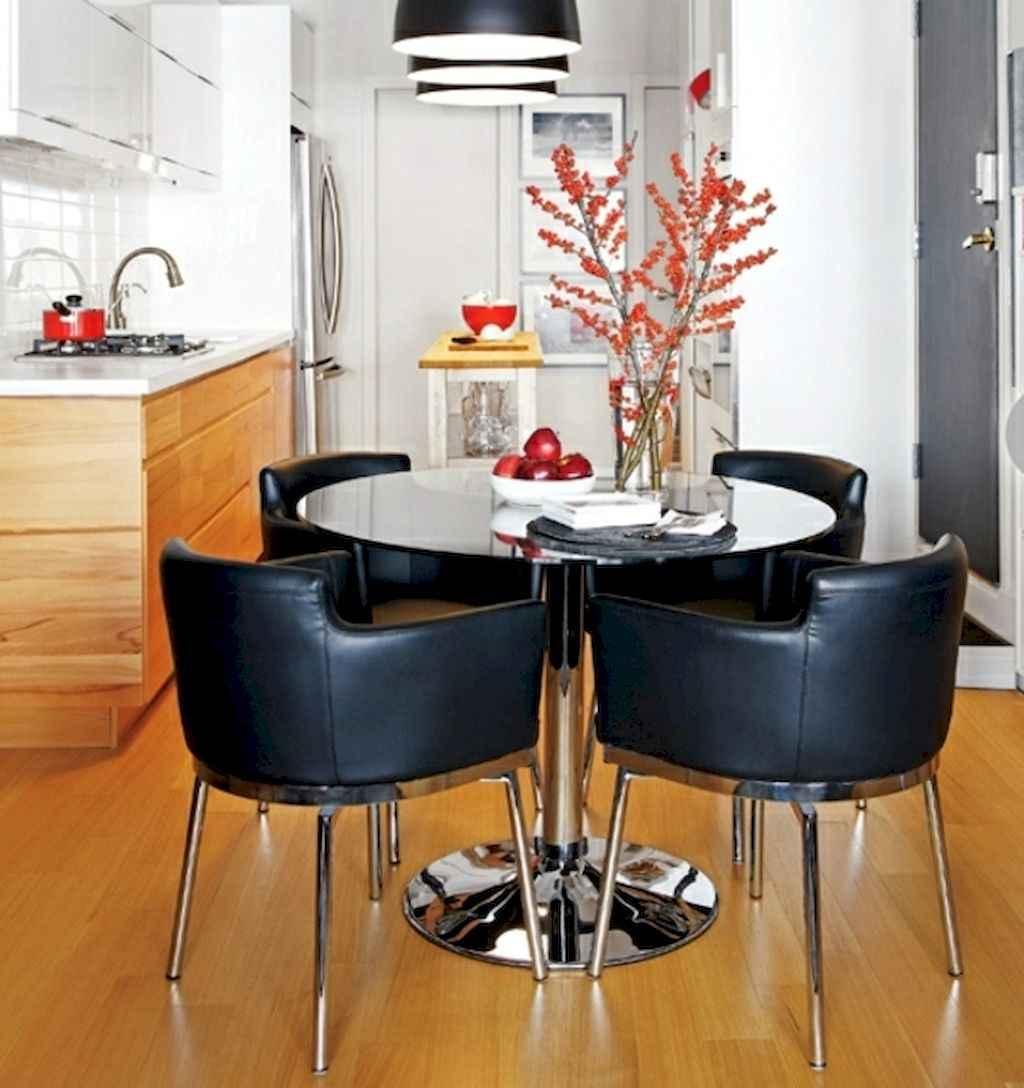 80 Stunning Apartment Dining Room Decor Ideas (22)