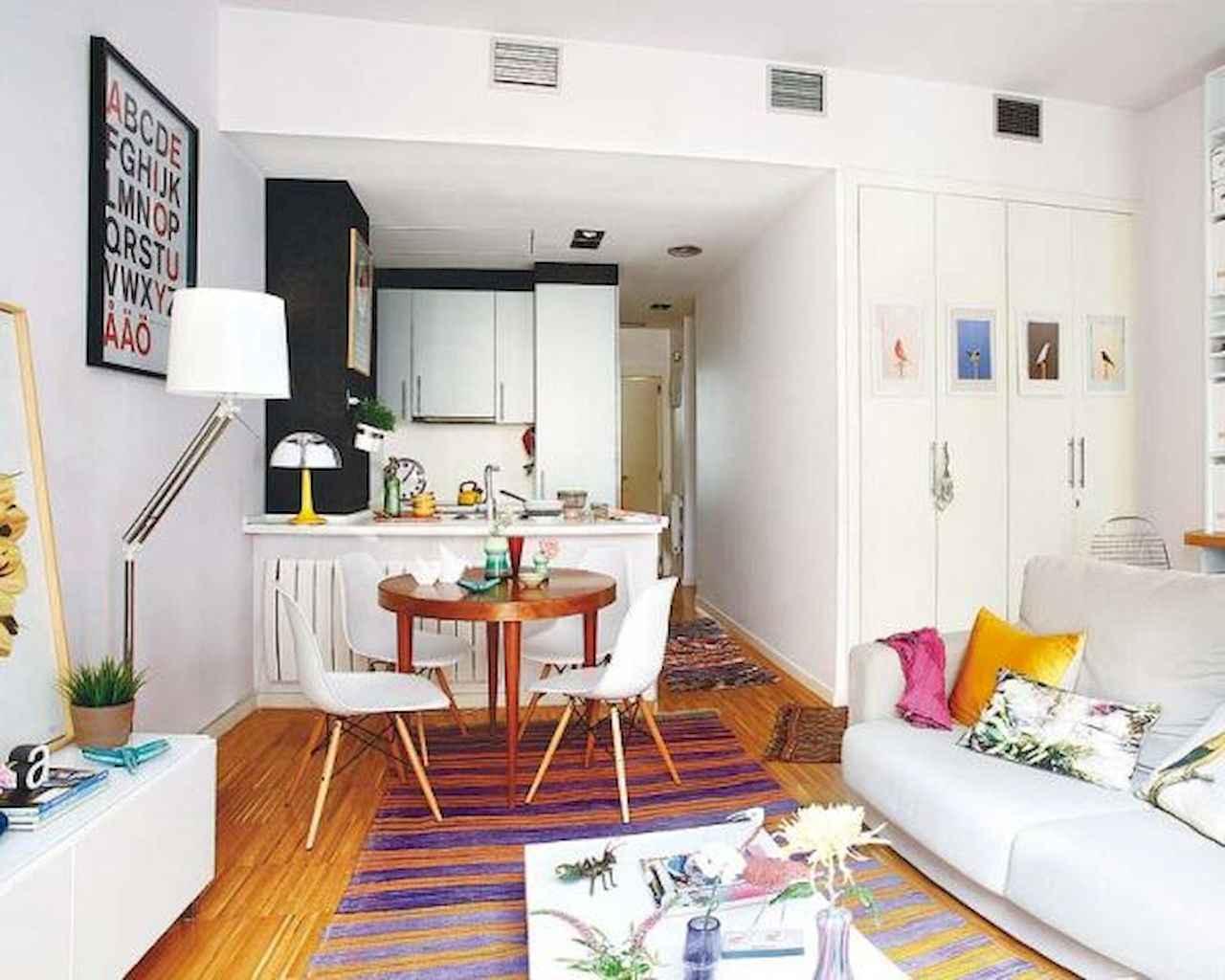 80 Stunning Apartment Dining Room Decor Ideas (27)