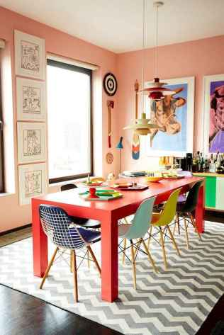 80 Stunning Apartment Dining Room Decor Ideas (31)