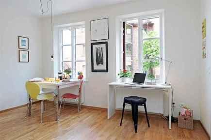 80 Stunning Apartment Dining Room Decor Ideas (38)