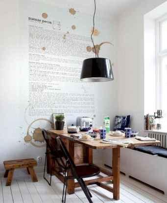 80 Stunning Apartment Dining Room Decor Ideas (47)