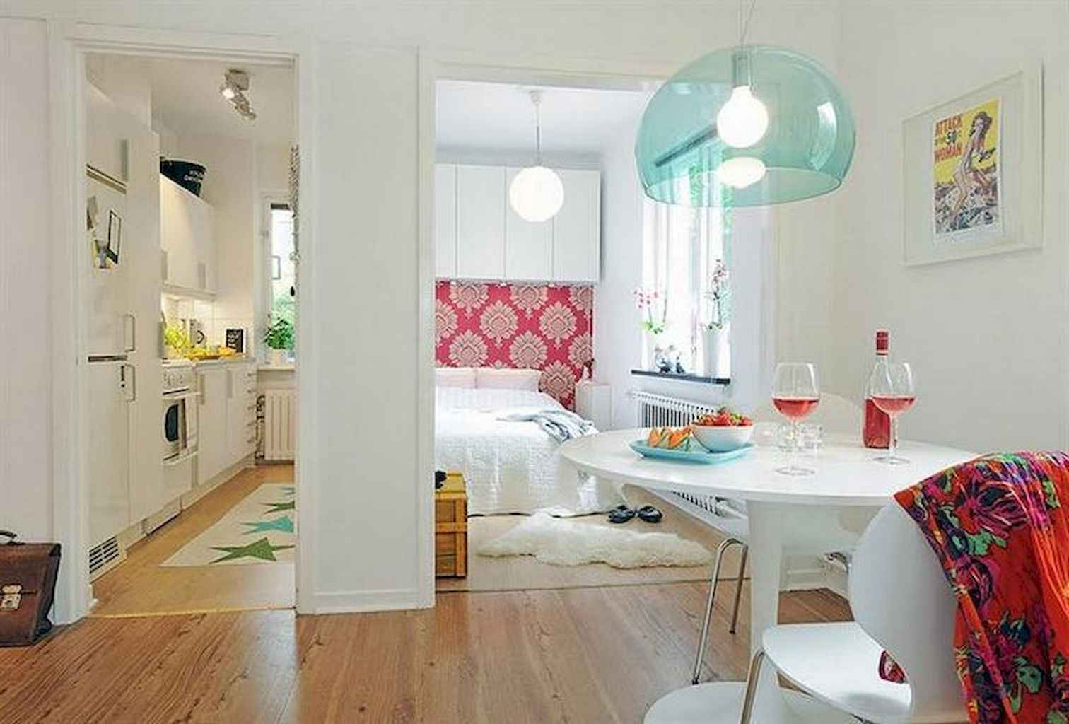 80 Stunning Apartment Dining Room Decor Ideas (55)