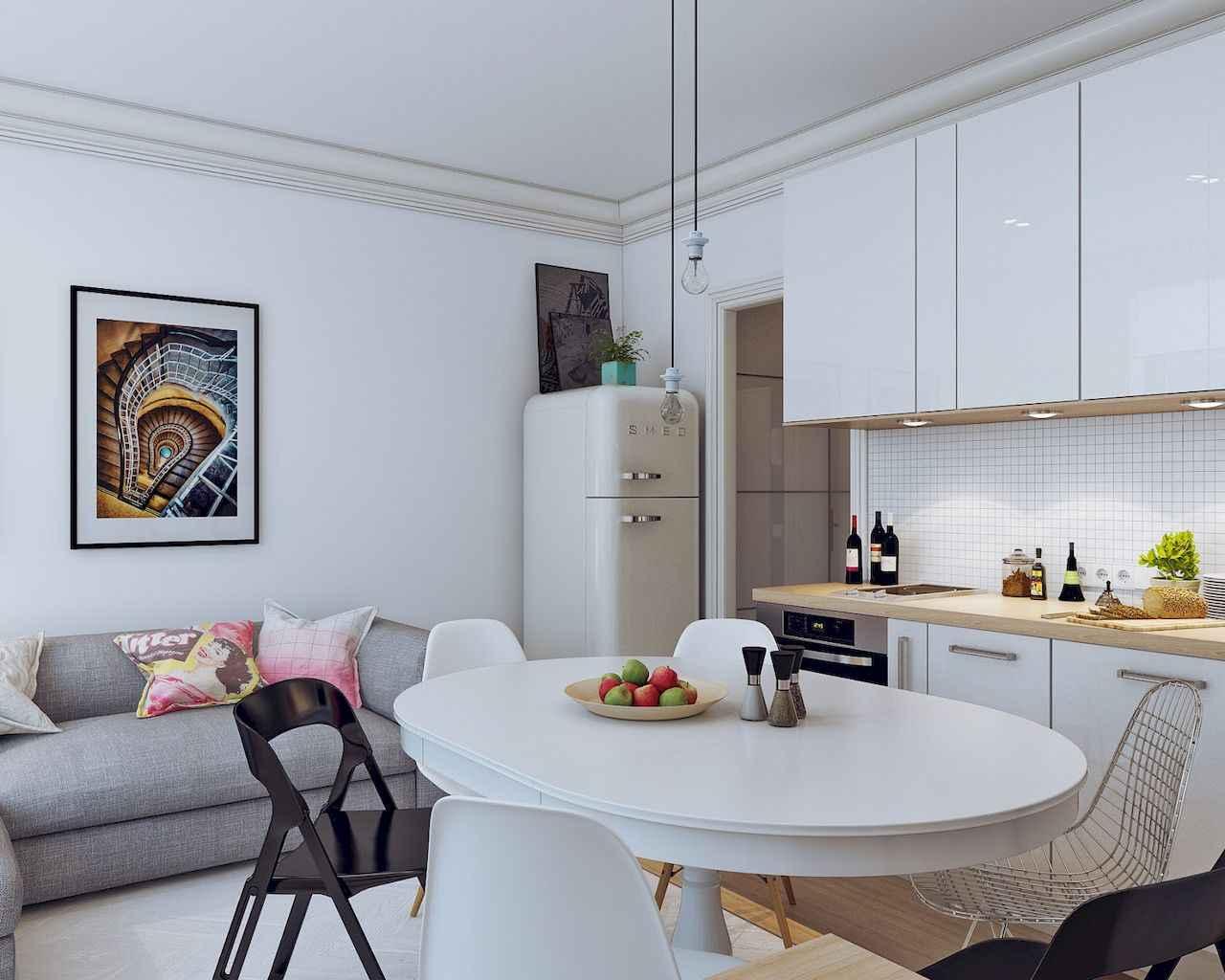 80 Stunning Apartment Dining Room Decor Ideas (62)