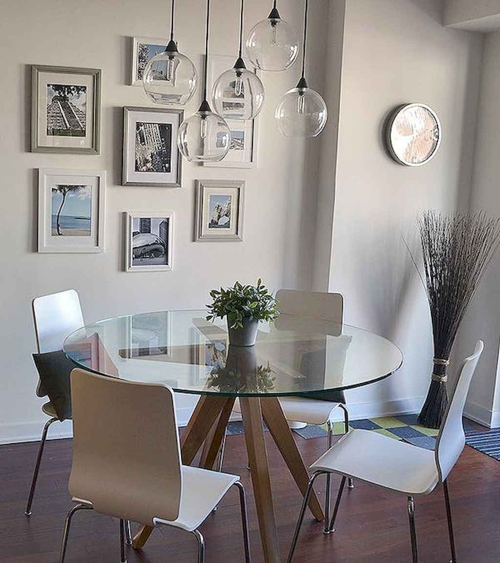 80 Stunning Apartment Dining Room Decor Ideas (8)