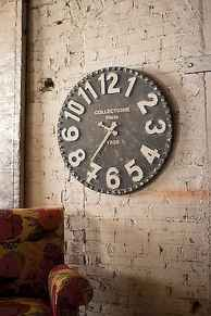 33 Best Industrial Farmhouse Clock Design Ideas (1)