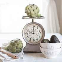33 Best Industrial Farmhouse Clock Design Ideas (11)
