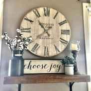 33 Best Industrial Farmhouse Clock Design Ideas (2)