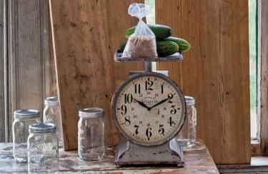 33 Best Industrial Farmhouse Clock Design Ideas (31)