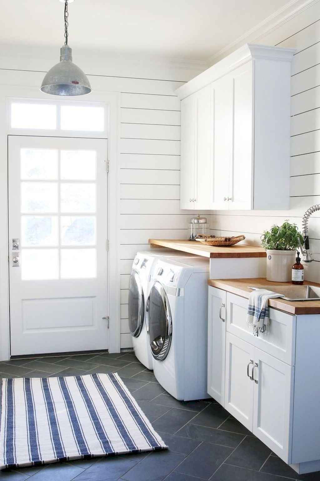 45 Rustic Farmhouse Laundry Room Design Ideas and Makeover (13)