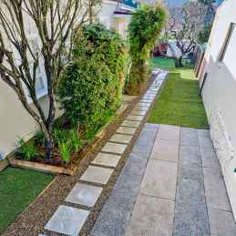 55 Beautiful Side Yard Garden Design Ideas (10)