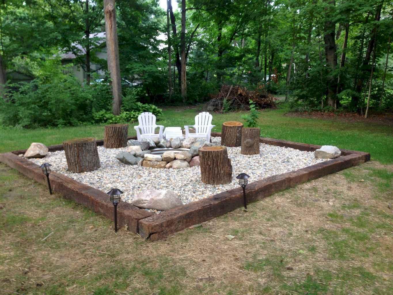 60 Beautiful Backyard Fire Pit Ideas Decoration and Remodel (1)