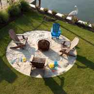 60 Beautiful Backyard Fire Pit Ideas Decoration and Remodel (10)