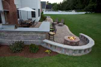 60 Beautiful Backyard Fire Pit Ideas Decoration and Remodel (12)