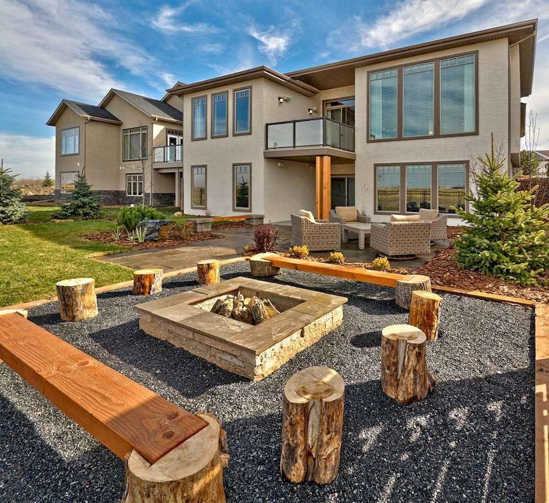 60 Beautiful Backyard Fire Pit Ideas Decoration and Remodel (23)