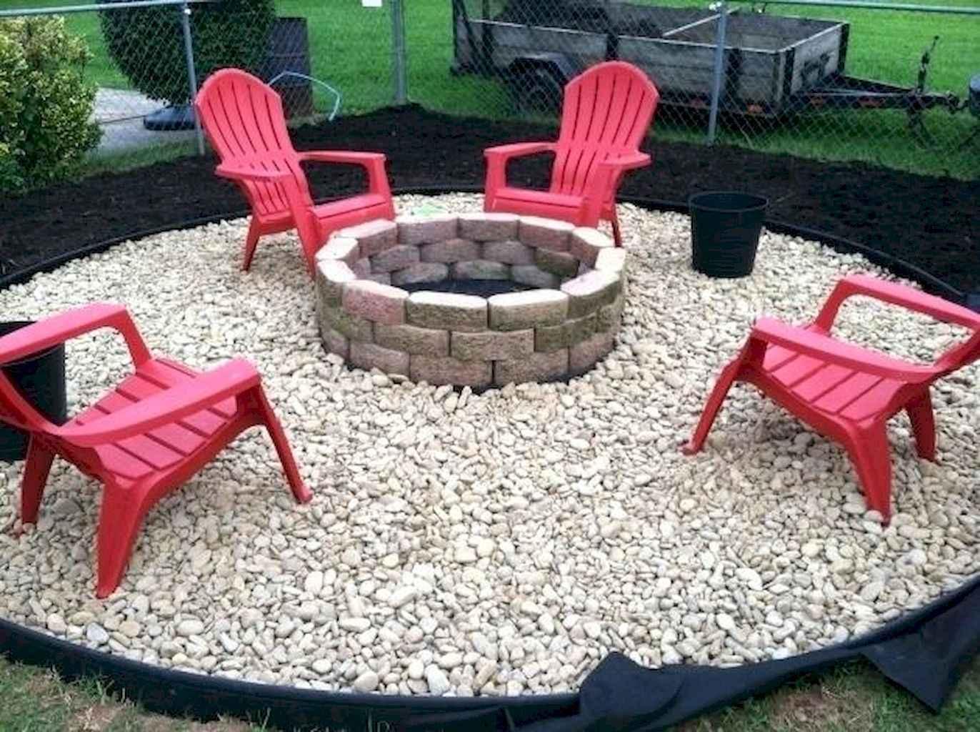 60 Beautiful Backyard Fire Pit Ideas Decoration and Remodel (28)