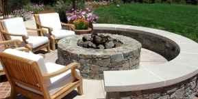 60 Beautiful Backyard Fire Pit Ideas Decoration and Remodel (29)