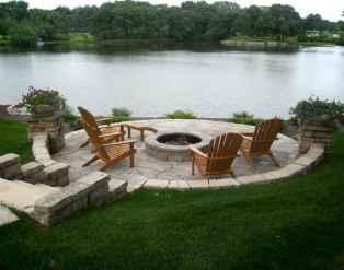 60 Beautiful Backyard Fire Pit Ideas Decoration and Remodel (43)