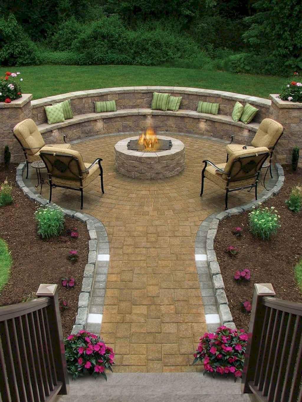 60 Beautiful Backyard Fire Pit Ideas Decoration and Remodel (49)