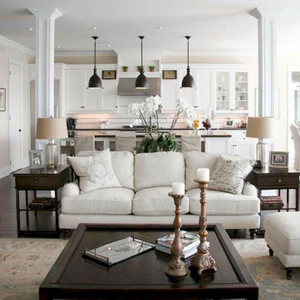 70 Rustic Farmhouse Living Room Decor Ideas (11)