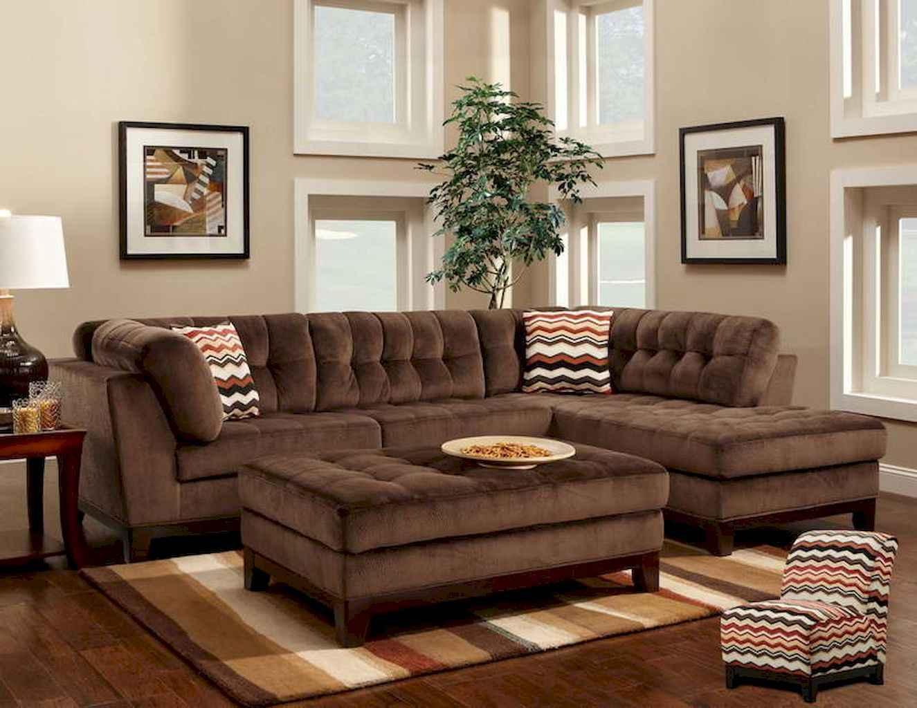 70 Rustic Farmhouse Living Room Decor Ideas (37)