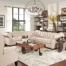 70 Rustic Farmhouse Living Room Decor Ideas (4)