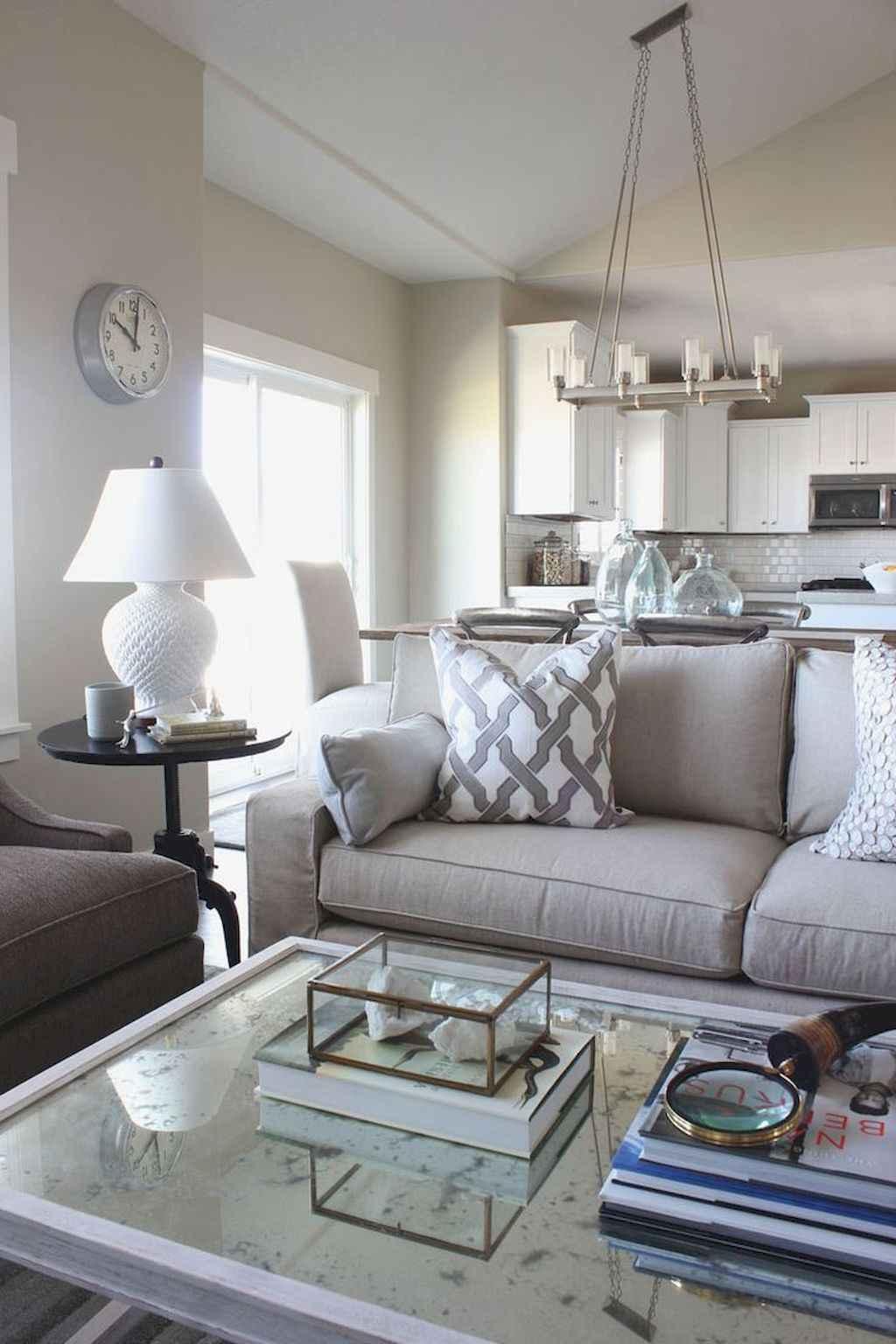 70 Rustic Farmhouse Living Room Decor Ideas (40)