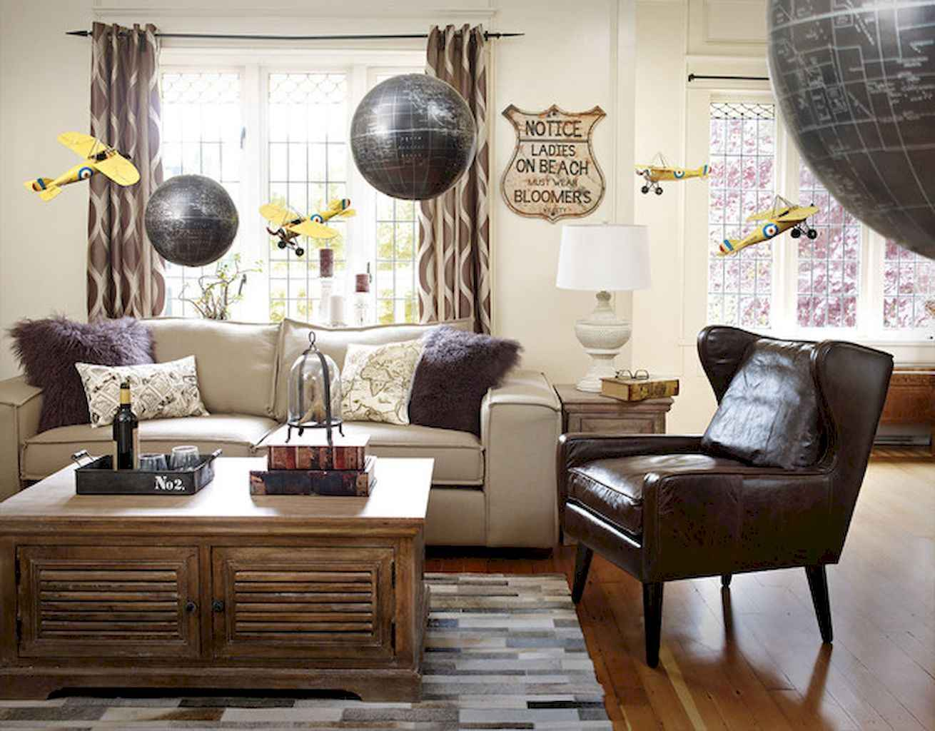 70 rustic farmhouse living room decor ideas and makeover. Black Bedroom Furniture Sets. Home Design Ideas