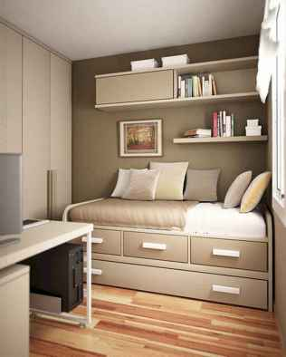 78 Best Small Bedroom Design And Decor Ideas (67)