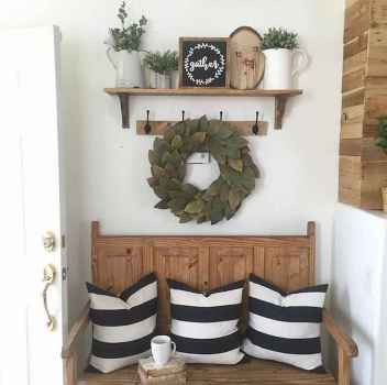 40 Stunning Farmhouse Entryway Decorating Ideas And Remodel (40)