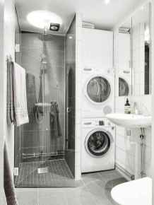 40 Stunning Tiny House Bathroom Shower Design Ideas And Remodel (12)