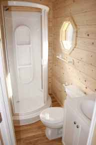 40 Stunning Tiny House Bathroom Shower Design Ideas And Remodel (5)