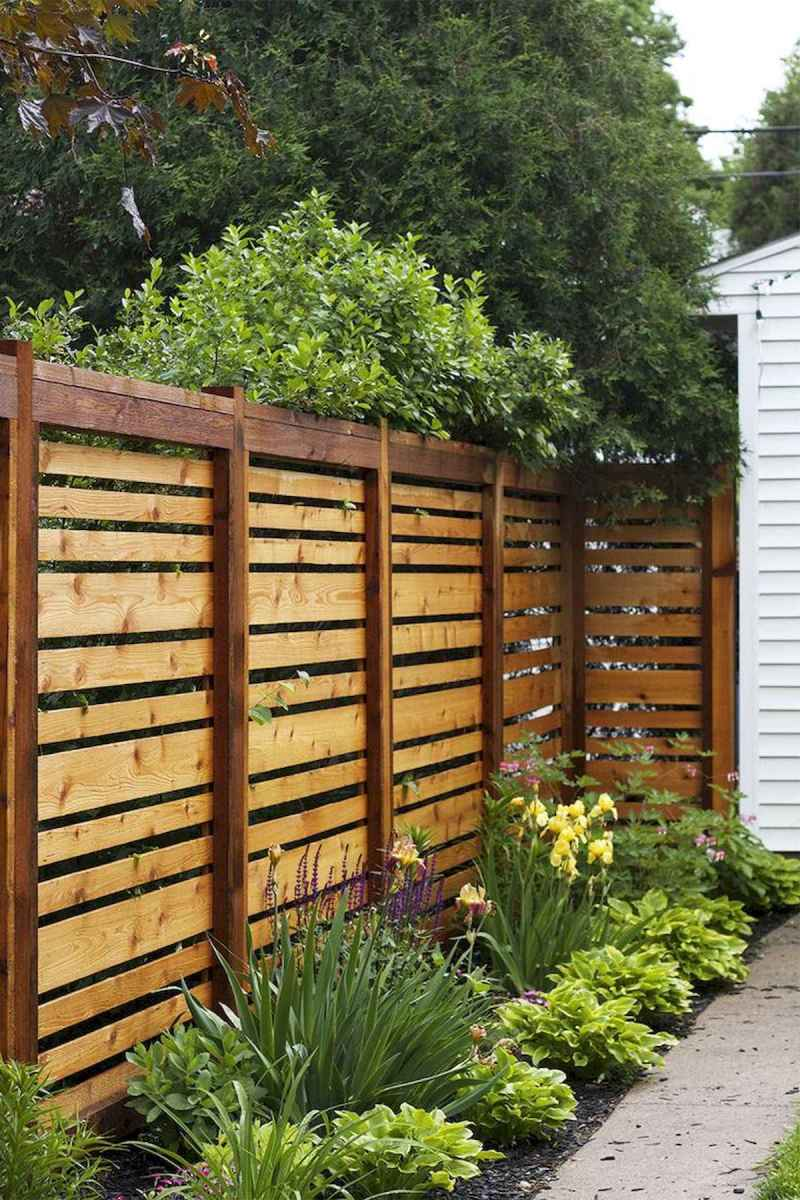 50 Stunning Backyard Privacy Fence Ideas Decorations And Remodel (10)