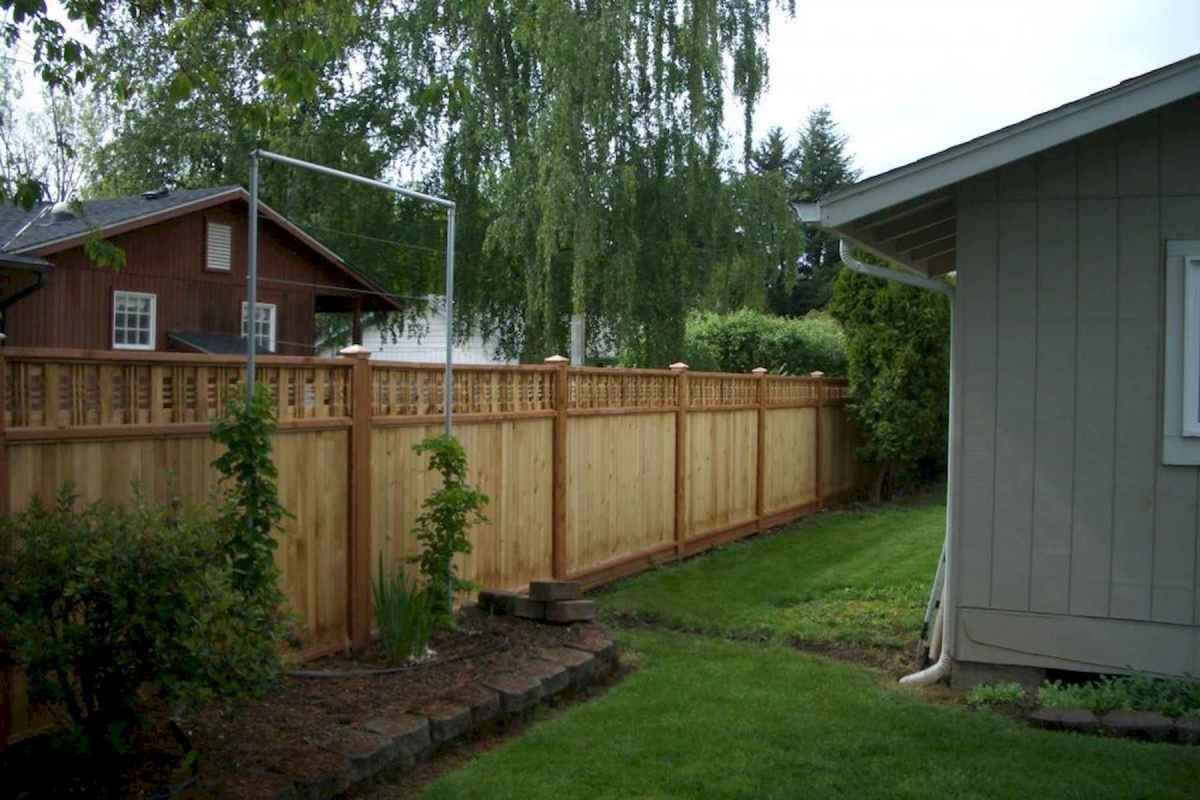 50 Stunning Backyard Privacy Fence Ideas Decorations And Remodel (13)