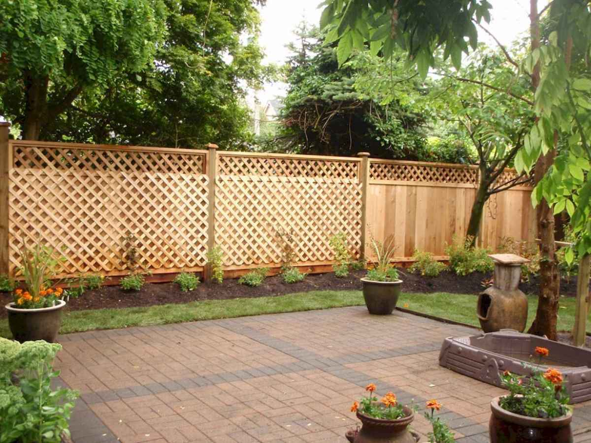 50 Stunning Backyard Privacy Fence Ideas Decorations And Remodel (16)