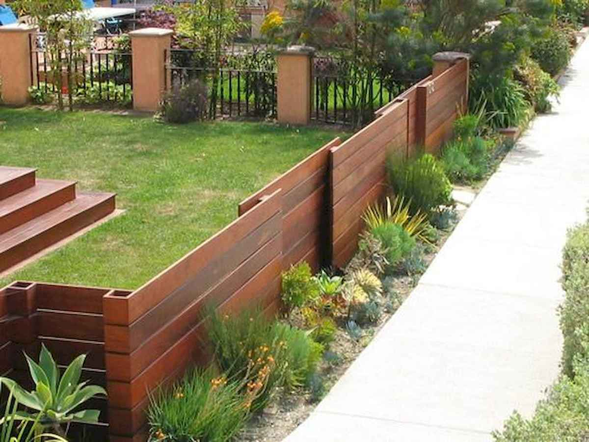 50 Stunning Backyard Privacy Fence Ideas Decorations And Remodel (22)
