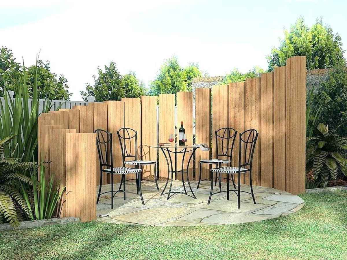50 Stunning Backyard Privacy Fence Ideas Decorations And Remodel (25)