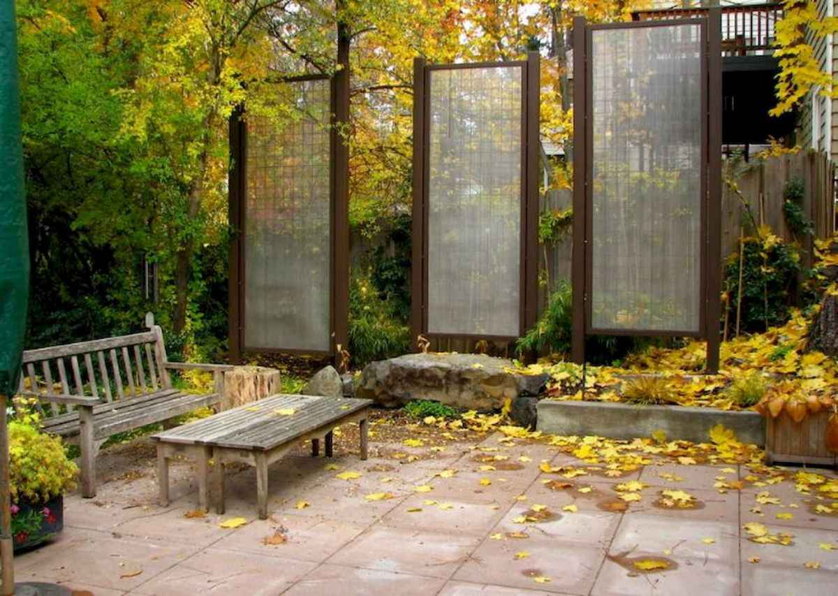 50 Stunning Backyard Privacy Fence Ideas Decorations And Remodel (37)